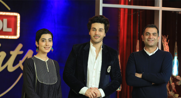 Sarmad Khoosat & Eman Suleman In BOL Nights