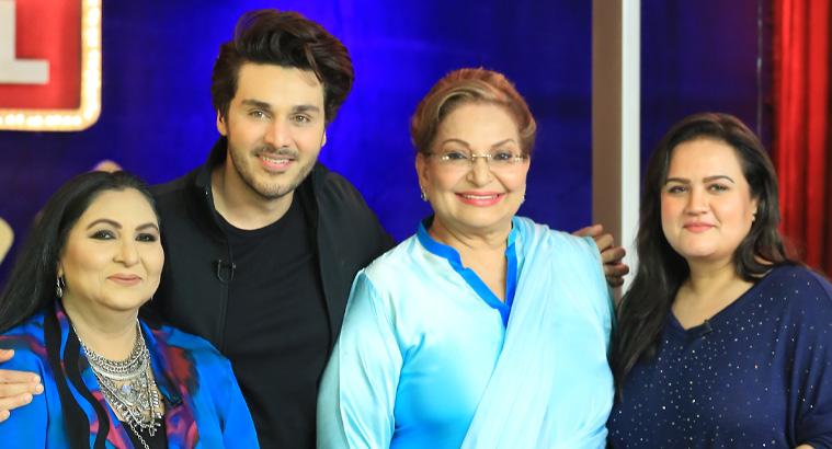 Fariha Jabeen, Sangeeta & Hina Rizvi In BOL Nights