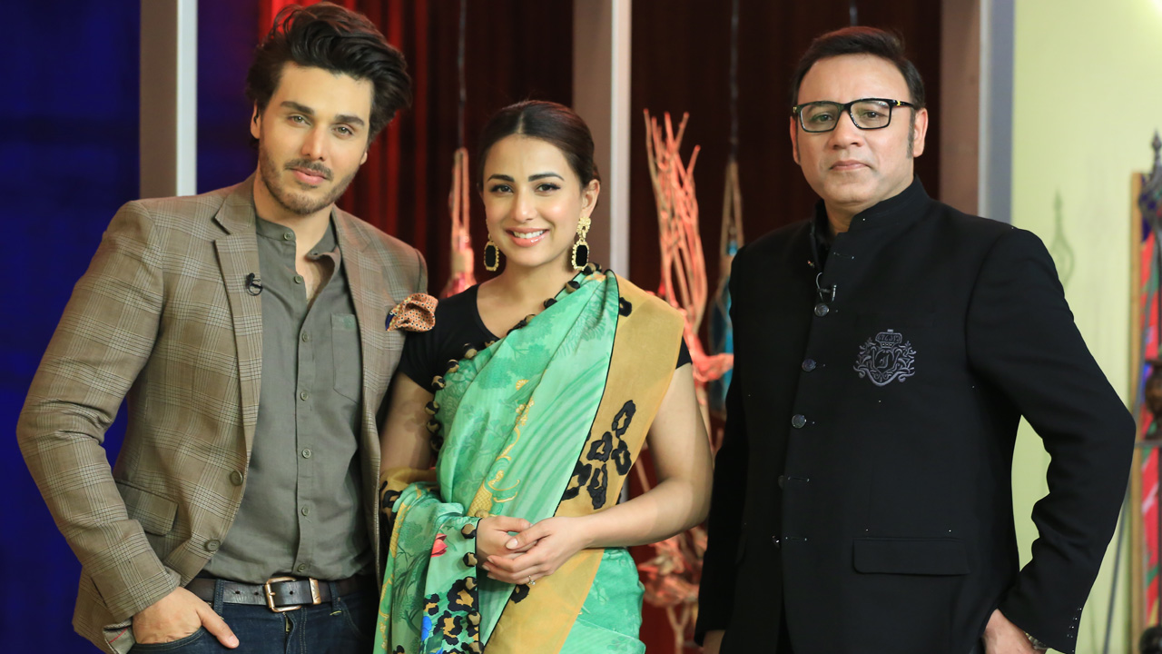 Ushna Shah & Amir Malik In BOL Nights