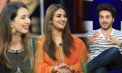Hiba Bukhari & Komal Aziz Khan In BOL Nights